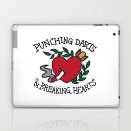 Punching Darts & Breaking Hearts Laptop & iPad Skin