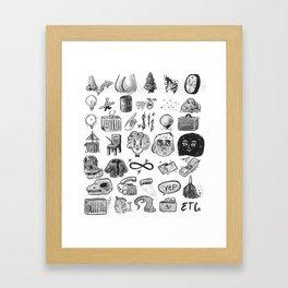 Boogie In Your Butt Framed Art Print