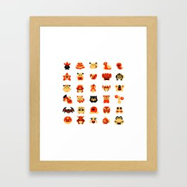 The Boys Are Back In Town Framed Art Print