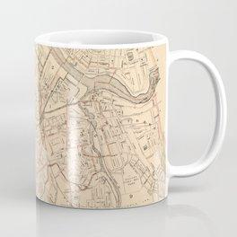 Vintage Map of Lowell MA (1904) Coffee Mug