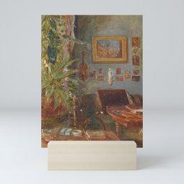 Franz Alt-Blick in the studio Rudolf von Alts Mini Art Print
