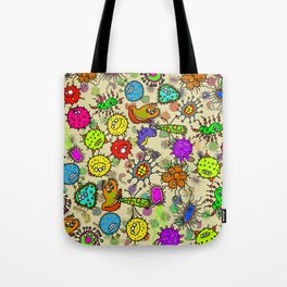 Doodle Germs Tote Bag