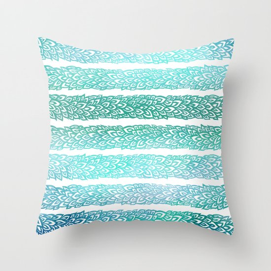 Leaves From Paradise II Throw Pillow