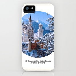 008: Neuschwanstein Castle iPhone Case