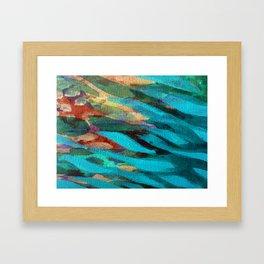 Under the Jetty Framed Art Print