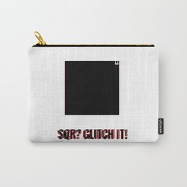 SQR? GLITCH IT! 2 Carry-All Pouch