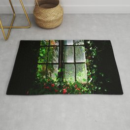 Secret garden window Rug