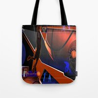 basketball Tote Bags featuring Basketball by Tami Cudahy