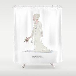 Miss Havisham Shower Curtain