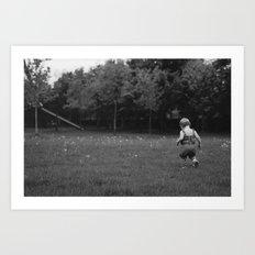 dandy field Art Print