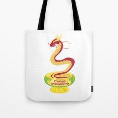 China Dynasty Dragon Tote Bag
