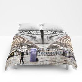 Paddington Station London Art Comforters