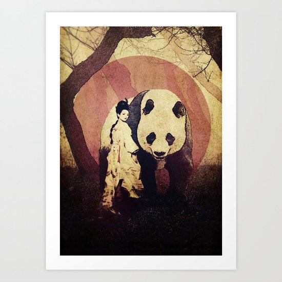 The Geisha Art Print