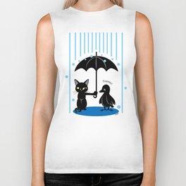 Umbrella Biker Tank