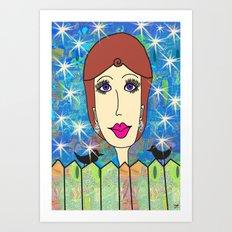 Twyla Twinkle Art Print