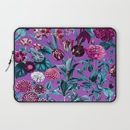 Romantic Floral Pattern Laptop Sleeve