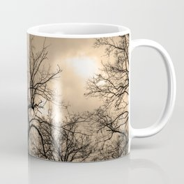 Witchy naked tree, sepia tones Coffee Mug