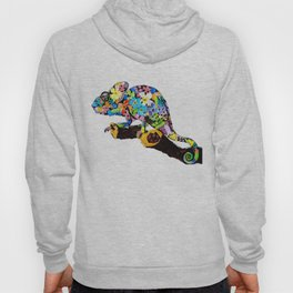 Blending in with Flowers Hoody