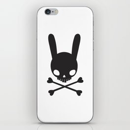 SKULL BUNNY OF PIRATES iPhone Skin