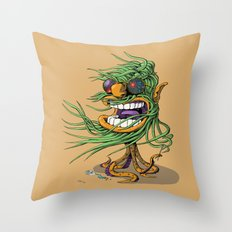 Hey Mr. Spaceman! Throw Pillow