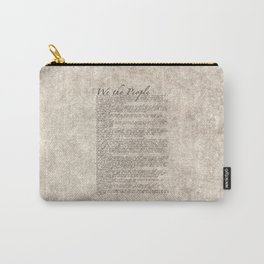 US Constitution - United States Bill of Rights Carry-All Pouch