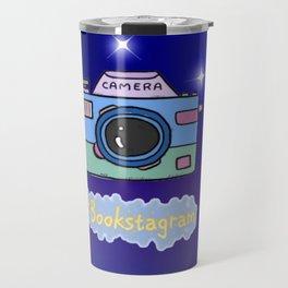 Camera #Bookstagram Travel Mug