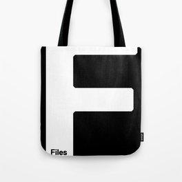 Files Rec F Tote Bag