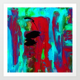 Abstraction Wonder No.2g by Kathy Morton Stanion Art Print