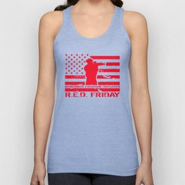 RED Friday Unisex Tank Top