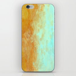 Earth and Water Abstract iPhone Skin