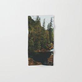 McKenzie River Trail - Blue Pool Hand & Bath Towel