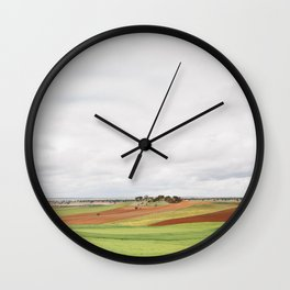 Countryside Landscape Wall Clock