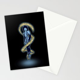 Cortana- Don't make a girl a promise  Stationery Cards