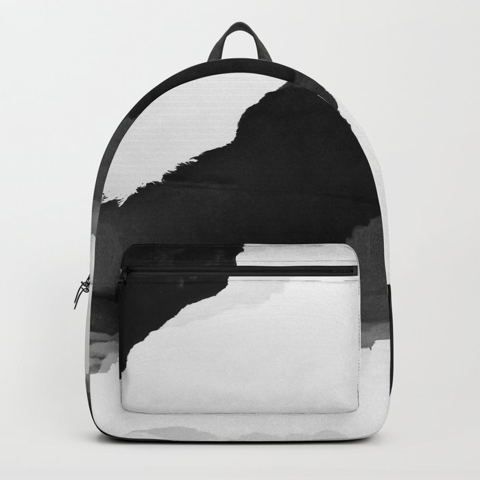 Black Isolation Backpack
