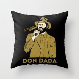 Super Cat Don Dada Throw Pillow