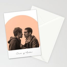Omar and Ander  love cute Stationery Cards