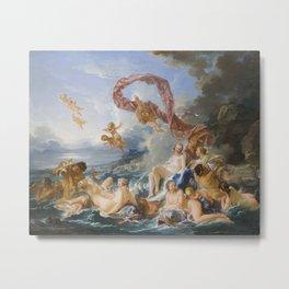 The Triumph of Venus by Francois Boucher, 1740 Metal Print