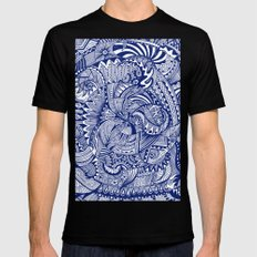 Waiting for the Wash Mens Fitted Tee Black MEDIUM