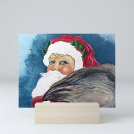 Santa's Got a Brand New Bag Mini Art Print