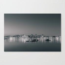 Porto in Black and White II Canvas Print