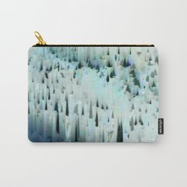 White Landscape / Snow Carry-All Pouch