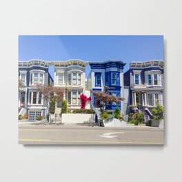 Streets of San Francisco Metal Print
