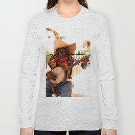 jamaica singer Long Sleeve T-shirt
