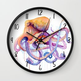 Octopus II Wall Clock