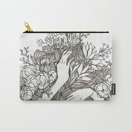 Flowers and Flowers and Flowers Carry-All Pouch