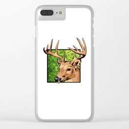 Wild things. Clear iPhone Case