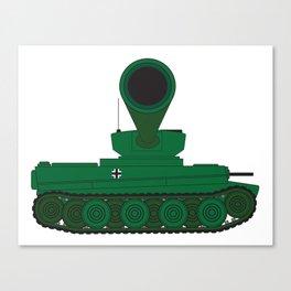 Tank Turret Gun Barrel Canvas Print