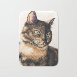 Tortie Cat Bath Mat