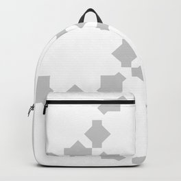 Abstract flower star shape pattern Backpack