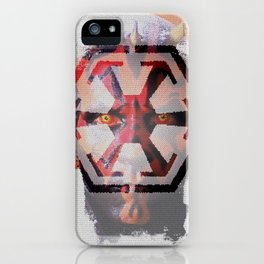 """Darth Maul """"A Sith To Be Remembered"""" iPhone Case"""
